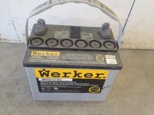 12 volt battery for powering paintless lights, etc.