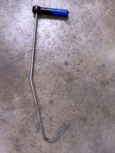 top of door hook tool pdr