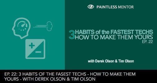 ep 22 3 habits of fastest Paintless Dent Repair Techs