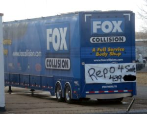 fox collision hail trailer repo